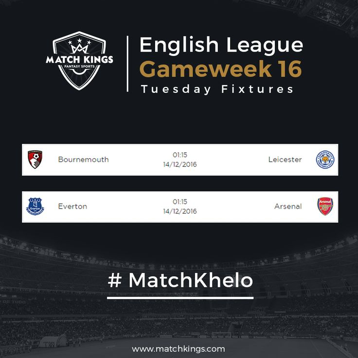 Gameweek 16 begins tonight! Pick your Weekly teams soon on www.matchkings.com! #MatchKhelo #pl #fpl #fantasysoccer #soccer #fantasyfootball #football #fantasysports #sports #fplindia #fantasyfootballindia #sportsgames #gamers  #stats  #fantasy #MatchKings