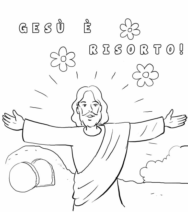 14 best È risorto! images on Pinterest Sunday school crafts, Bible - best of coloring pages easter religious
