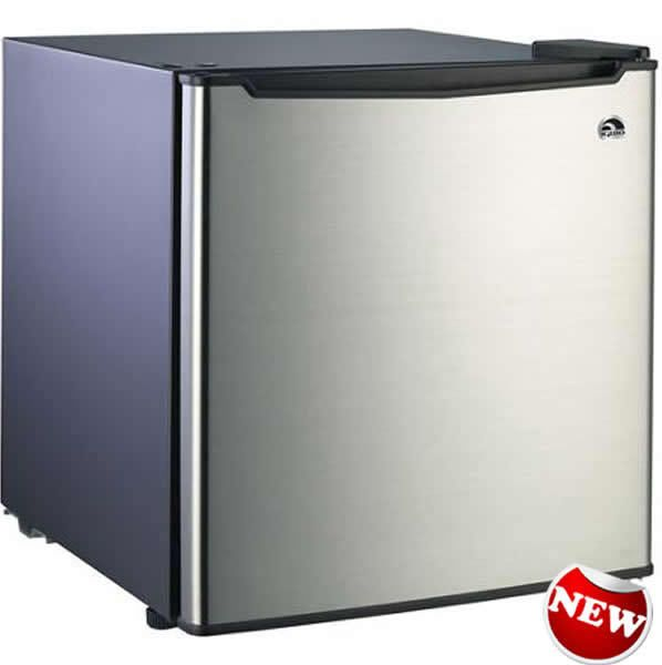 Charming Small Refrigerator Dorm Fridge 1.7 Cu Ft Office Compact Room Beer Cooler  Steel Part 22