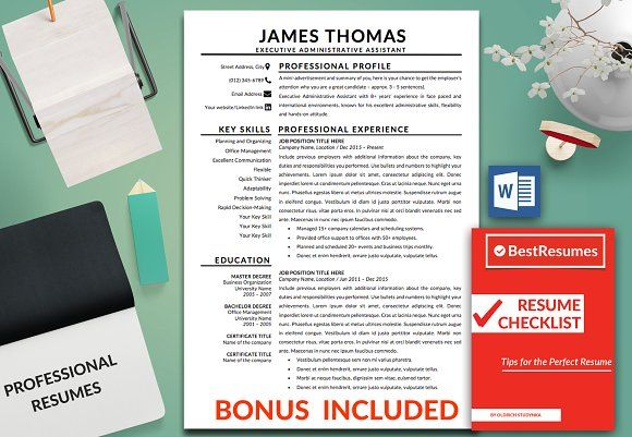 Resume Template   CV Template +bonus  @creativework247