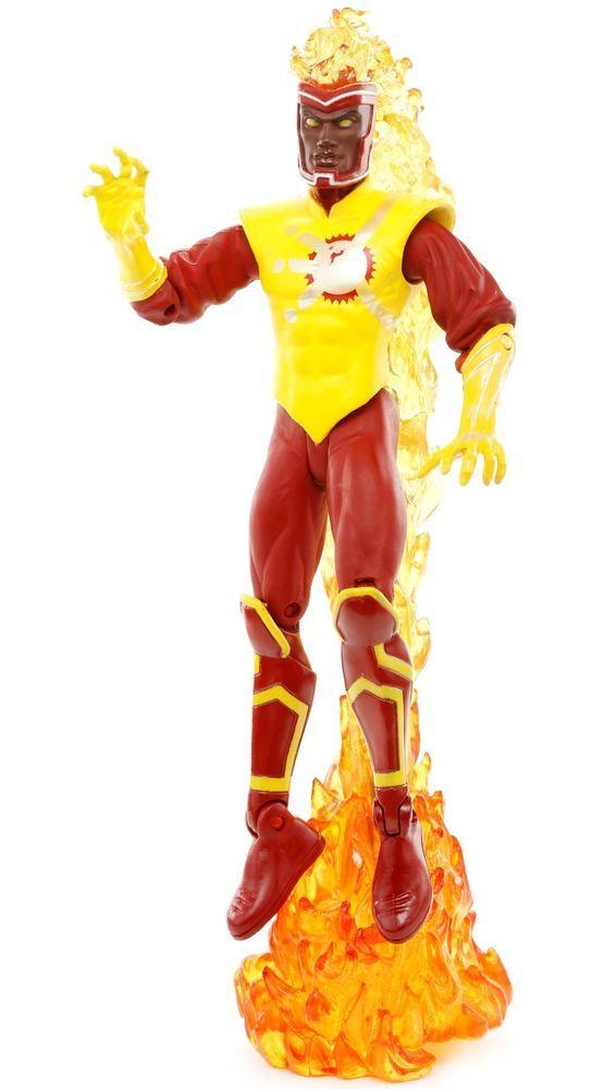 "DC Direct Infinite Crisis Series 2 FIRESTORM 6.25"" Action Figure 2007 #DCDirect"