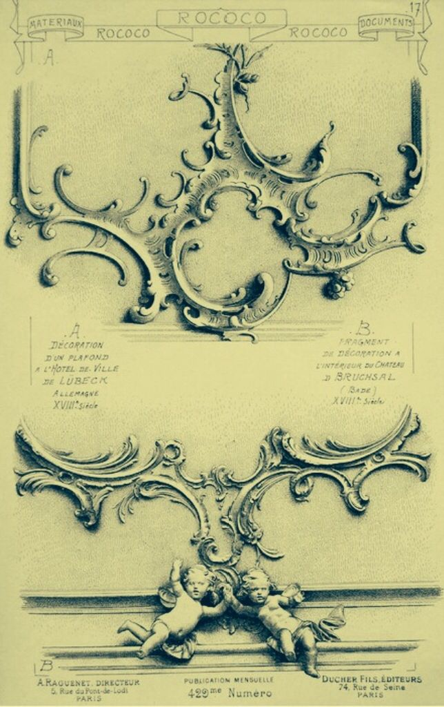 318 best images about rococo ornament on pinterest