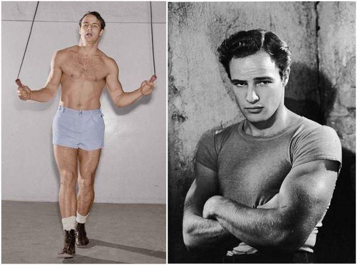 Marlon Brando's young body