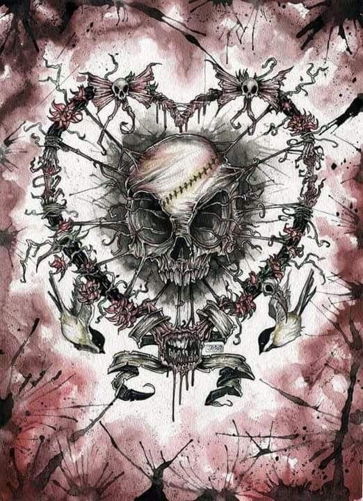 Valentine Skull!