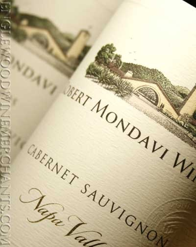 Robert Mondavi.  Their white wines are exceptional as well, and a staple in my kitchen