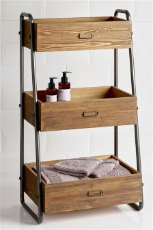 buy pine 3 tier caddy from the next uk online shop