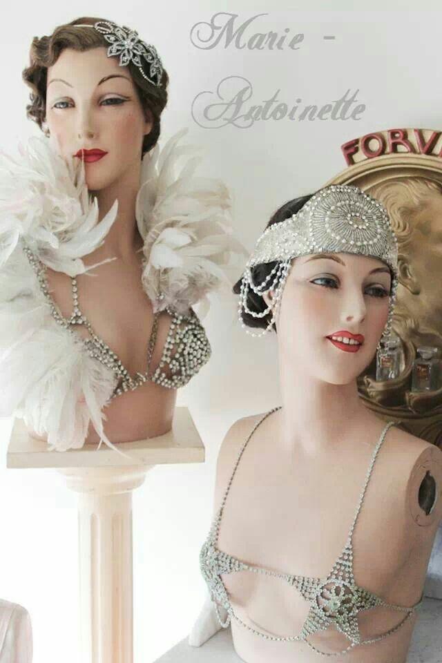 Marie Antoinette antique mannequins