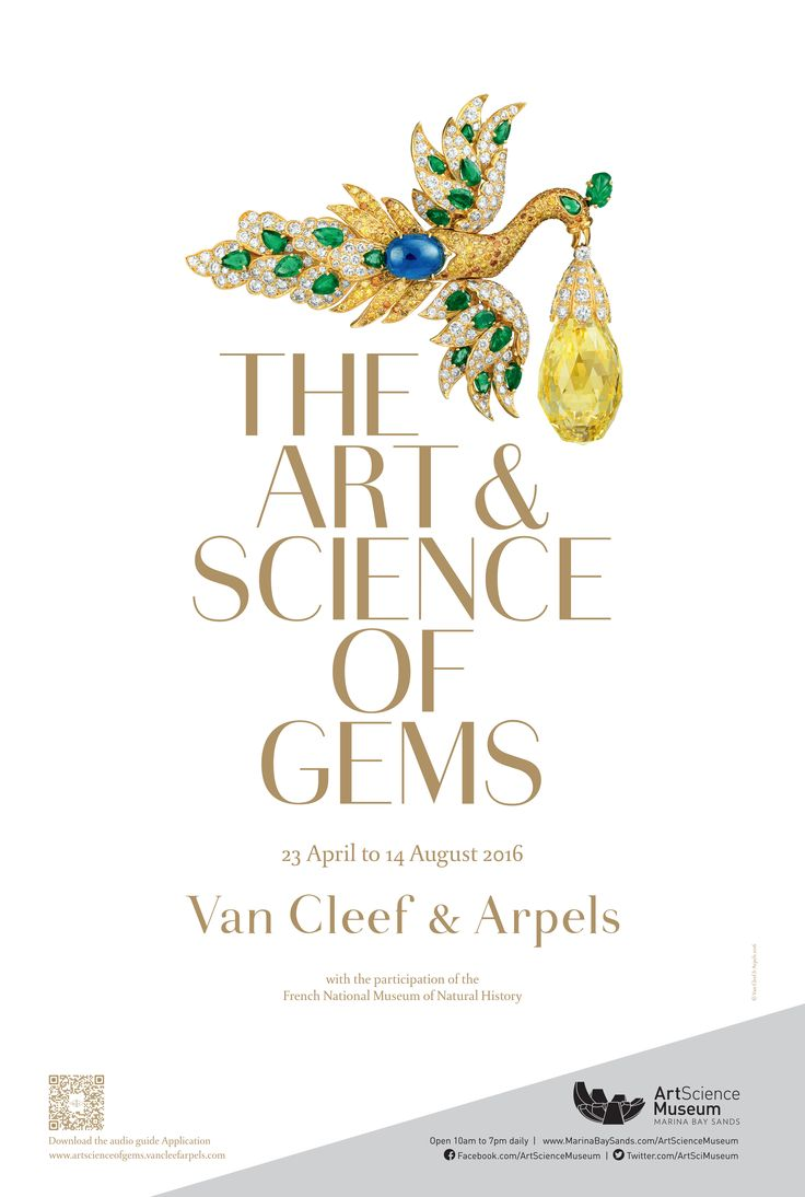"Van Cleef & Arpels presents ""The Art & Science of Gems"" exhibition at…"