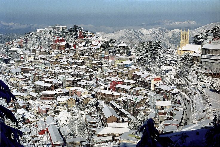 The town of Shimla rose in the nineteenth century when the Gurkha Wars came to an end in 1815-16 and the victorious British decided to retain certain pockets as military outposts and sanitaria.....!!!