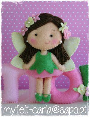 myfelt-carla ||| felt, fairy, faerie, fairies, faeries, faery, pixie, toy, doll, dollhouse, house, plush