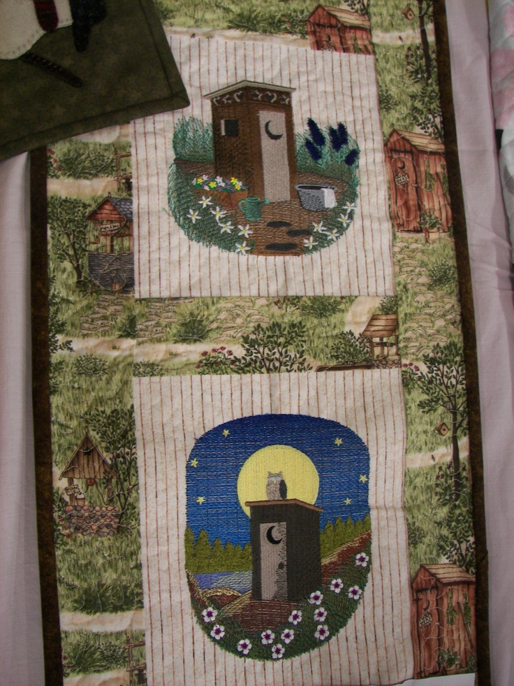 98 best outhouses images on pinterest garden houses for Garden shed quilting