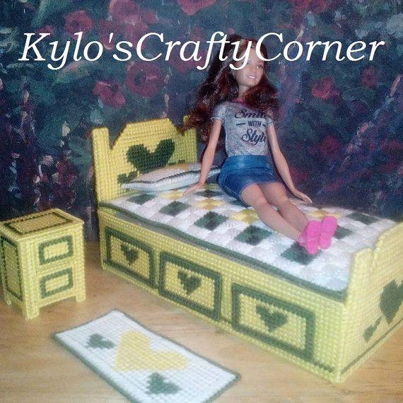 Sistema de dormitorio de Barbie / Barbie por KyLosCraftyCorner