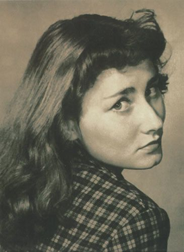 Halina Poswiatowska- polish poet and writer. 1935-1967.  She only lived 32 years, but she was one of the most important modern Polish authors.