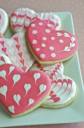These #Valentine's Day Cookies look so pretty!