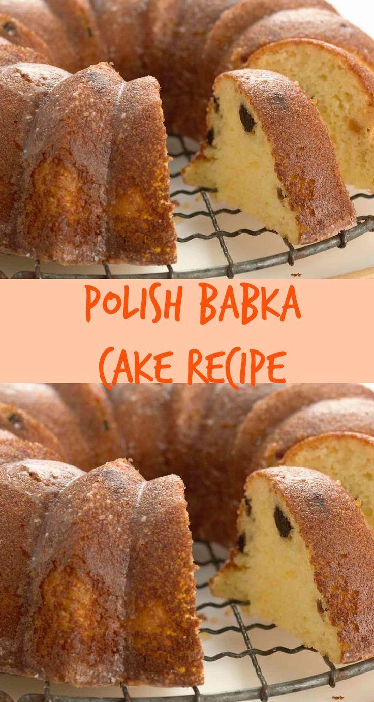 Polish Babka Cake Recipe