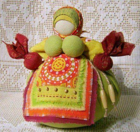 Кубышка-травница. Кукла оберег своими руками.