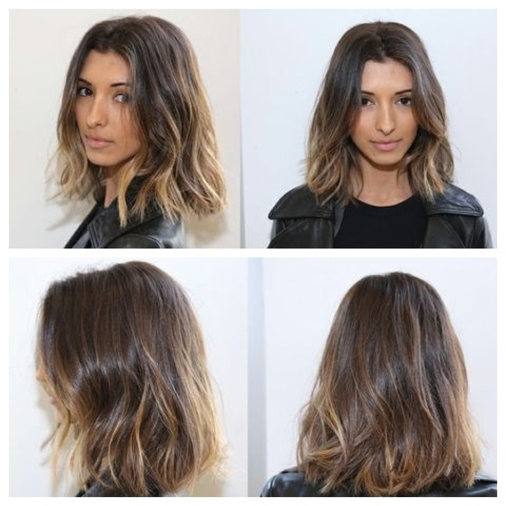 A day at the salon with India De Beaufort. Baby blonde highlights. Color by Johnny, cut and styled by Anh.
