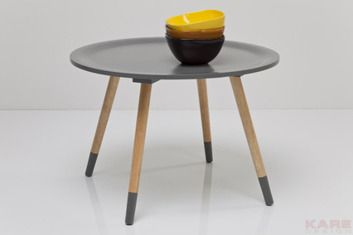 Kare design :: Stolik kawowy Blossom Grey Ø58cm
