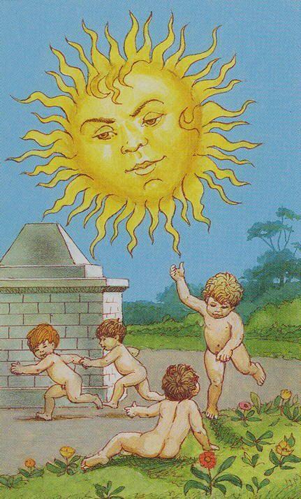 here comes the sun ♥ Lenormand Tarot