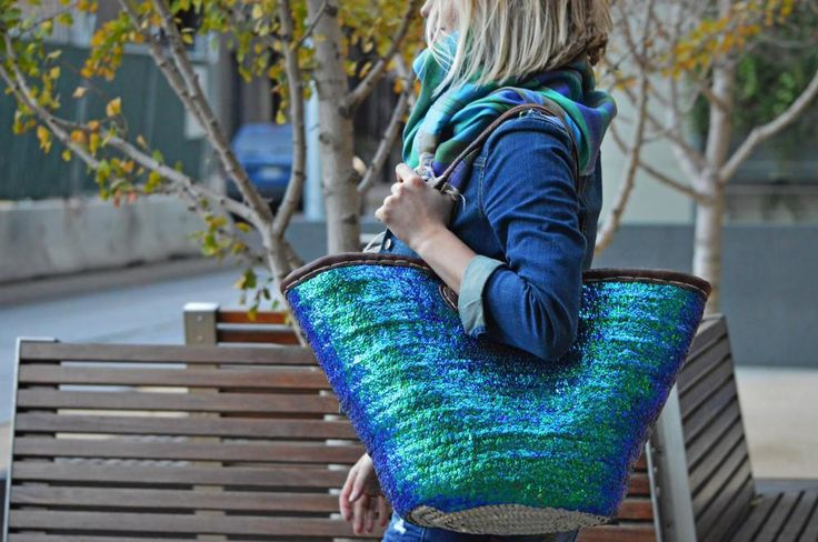Handcrafted fair trade bags from Morocco arriving February 2015