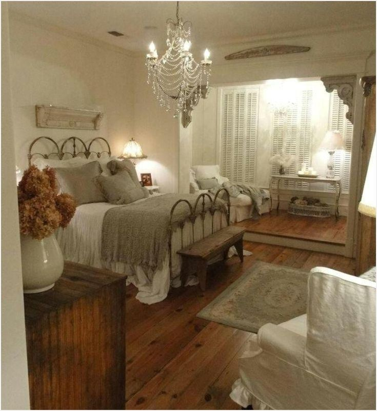 45 Amazing Romantic Country Bedroom Decorating Ideas With Images
