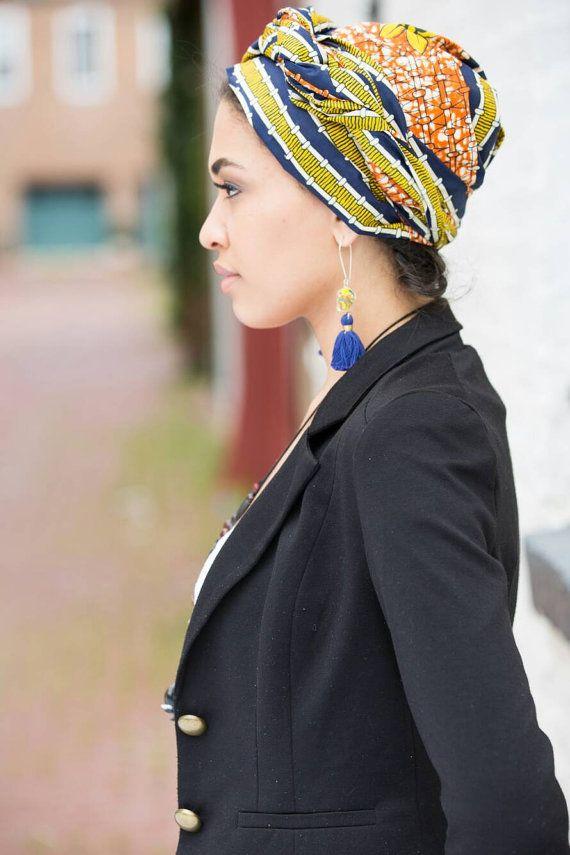 Afrikaanse hoofd wraps voor vrouwen Ankara door BabyOkraBoutique