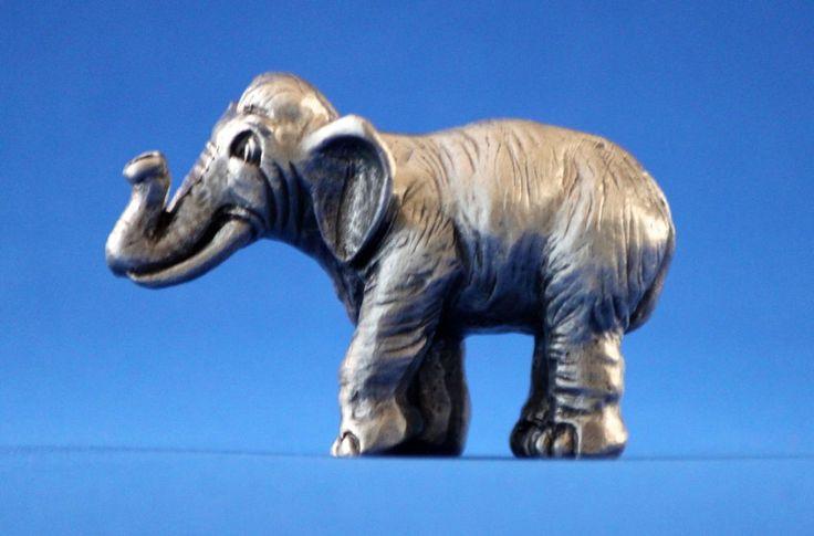 Hudson Pewter Noah's Ark male ELEPHANT