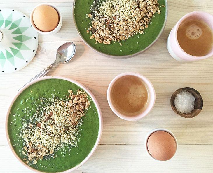 Grønskål til morgenmad