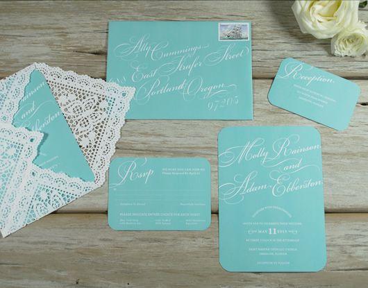The 25 best Tiffany wedding invitations ideas on Pinterest