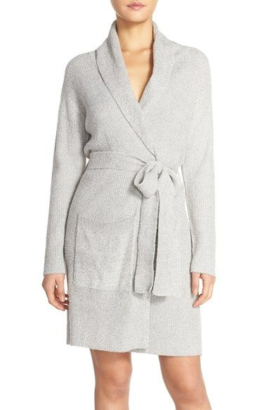 LOVE!!! Want want want! Robe upgrade! Barefoot dreams. Bamboo chic lite. Pewter robe. #nordtrom . Size 2 please