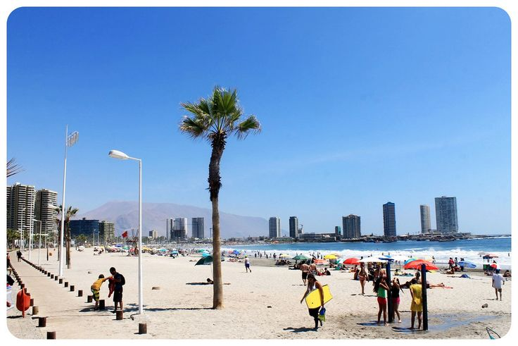 Warming up to the Iquique coastline in Northern Chile
