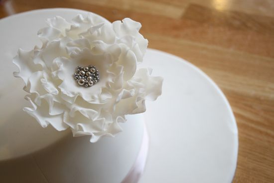 DIY Cake Decorating Rose Tutorial0728 DIY Cake Decorating Ruffled Rose Tutorial