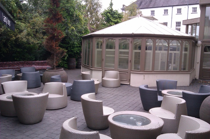 beautiful conservatory and seating area langtons kilkenny my secret garden pinterest wedding venues