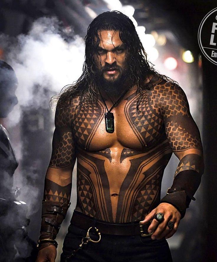 Jason Momoa in Aquaman (2018).