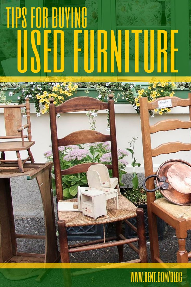 Tips For Buying Used Furniture