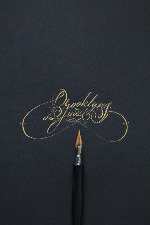 25 Stunning Hand-Lettering & Calligraphy Designs | From up North