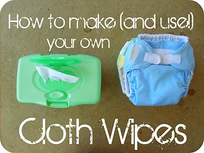 How to Make and Use Your Own Cloth Wipes Tutorial    www.the-red-kitchen.com