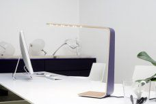 Led4 table lamp in purple