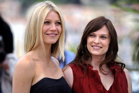 Gwyneth Paltrow y Vinessa Shaw, en el photocall de la película Two Lovers.