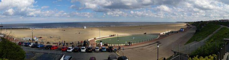 Gorleston beach.