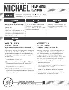 Best Resume Images On   Cv Template Resume Templates