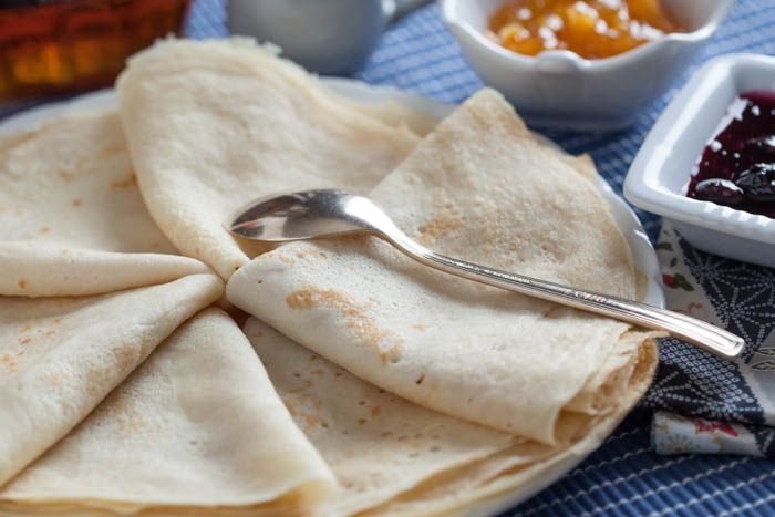Mamie Augusta's Crepes with Sugar - childtochef.com