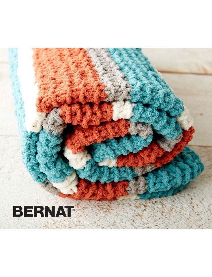 Knitting Patterns Bernat Blanket Yarn : The 1159 best images about Bernat Free Patterns on Pinterest Knit cowl patt...