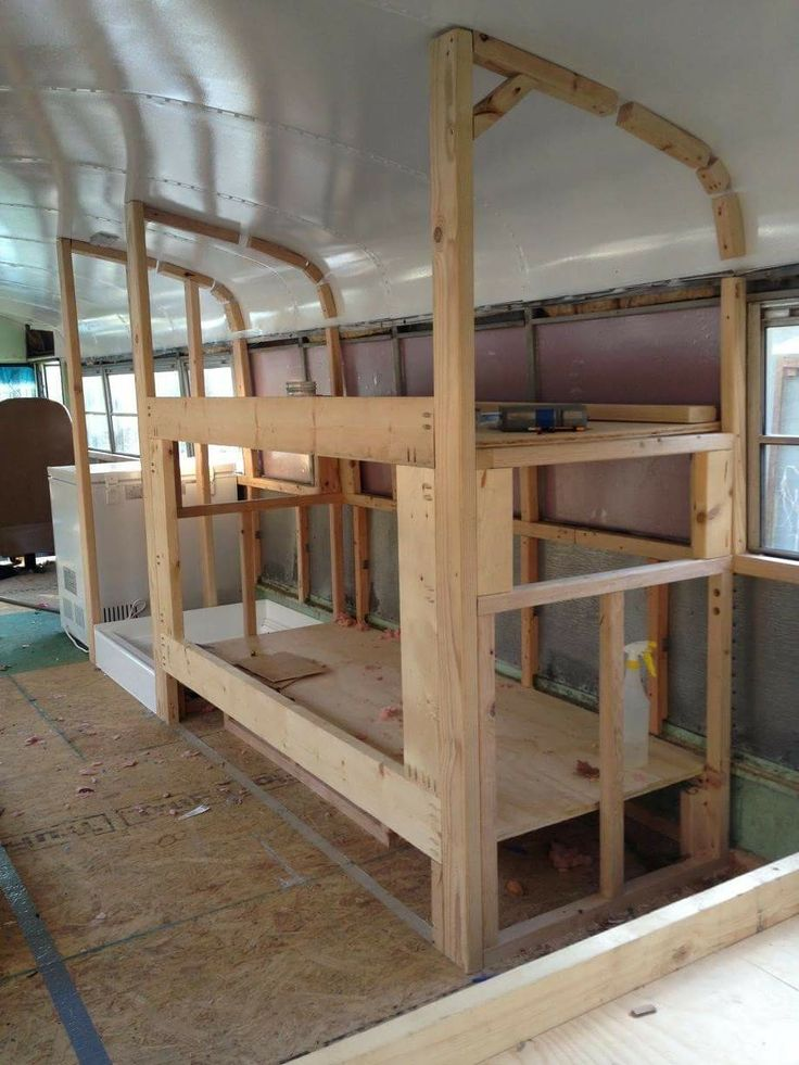 bus bunk beds - bug out or live in?