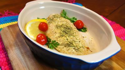 Photo of Baked Parmesan Perch