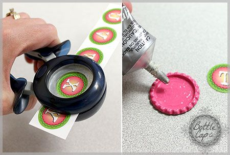17 best images about hannah 39 s 5th birthday on pinterest for How to make bottle cap crafts