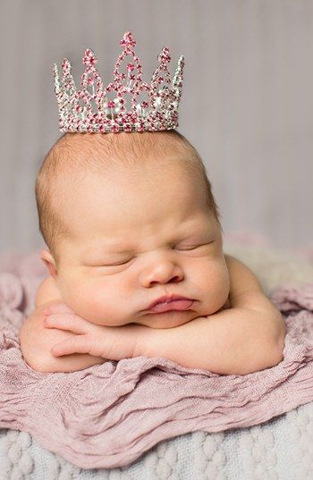Enchanted Shimmer 'Savannah' Crown (Baby Girls)