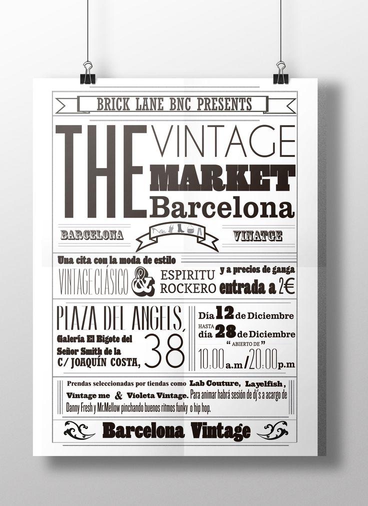 cartel tipografico informativo - Buscar con Google