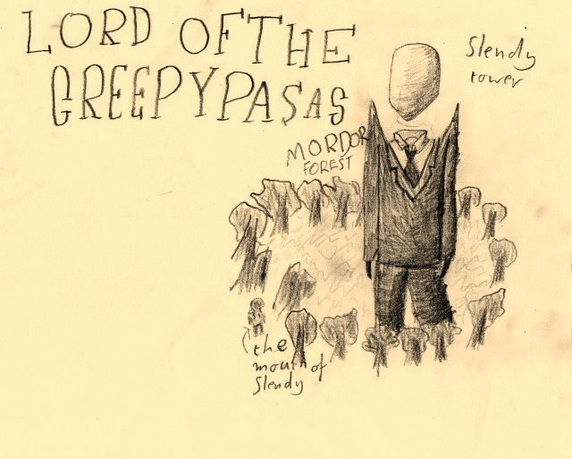 Lord of the Creepy Pastas #ByGabrielFargher