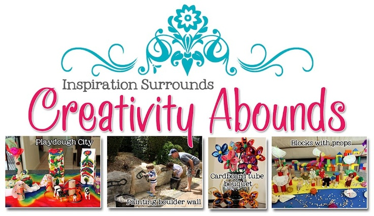 link to alphabet movement cards at Inspiration Surrounds... Creativity Abounds